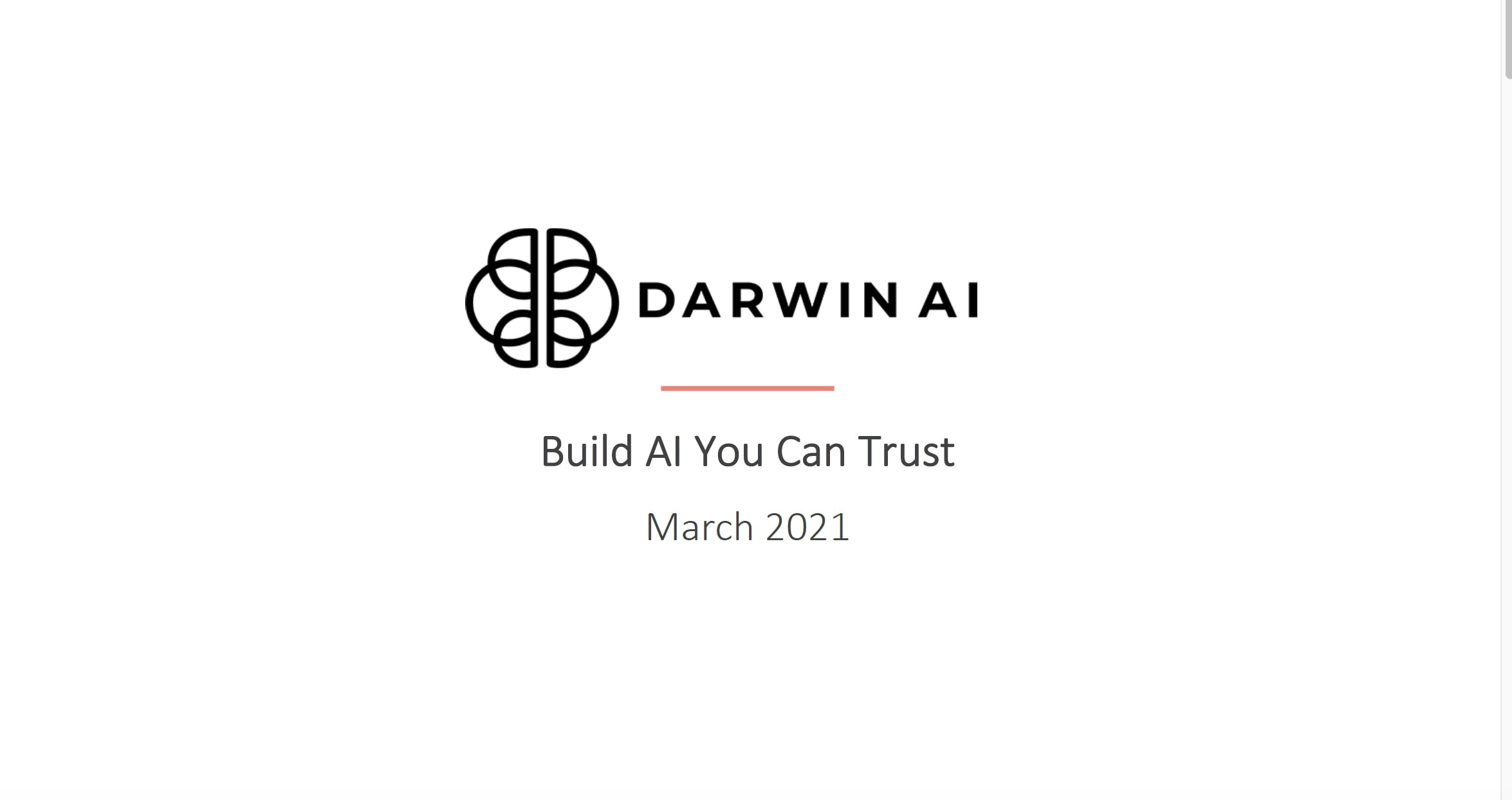 DarwinAI: AI for Manufacturing