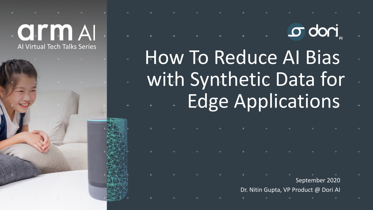 How to reduce AI bias with synthetic data for edge applications
