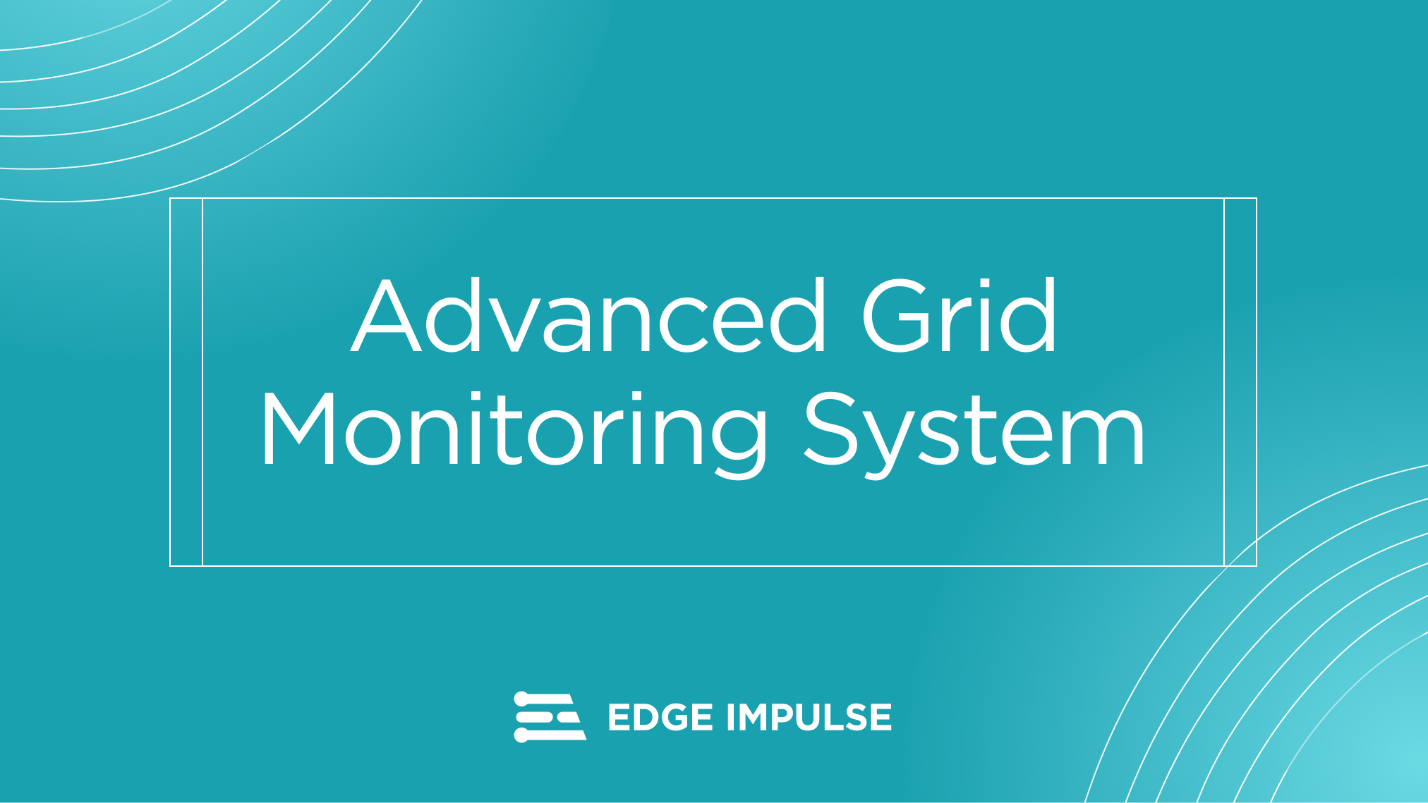 Advanced Grid Monitoring Solution, Powered by Edge Impulse