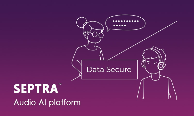 Septra Audio AI platform