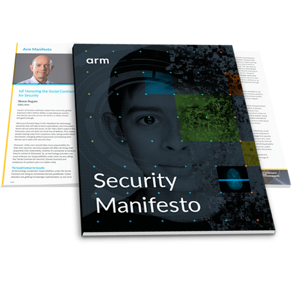 Cover of the Arm Security Manifesto