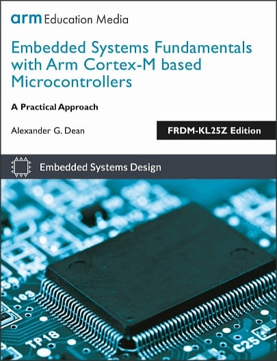 Textbook Cover - Embedded Systems Fundamentals, FRDM-KL25Z Edition