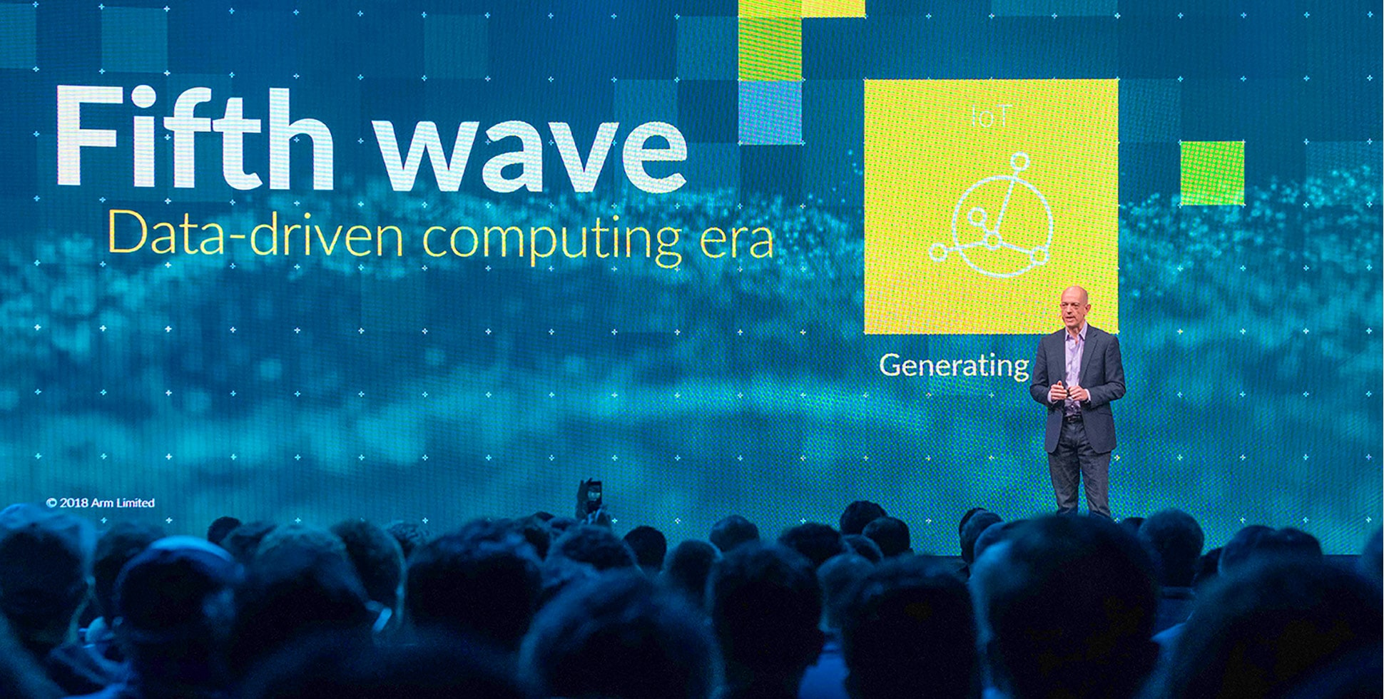 The Fifth Wave of Computing: AI, 5G + IoT