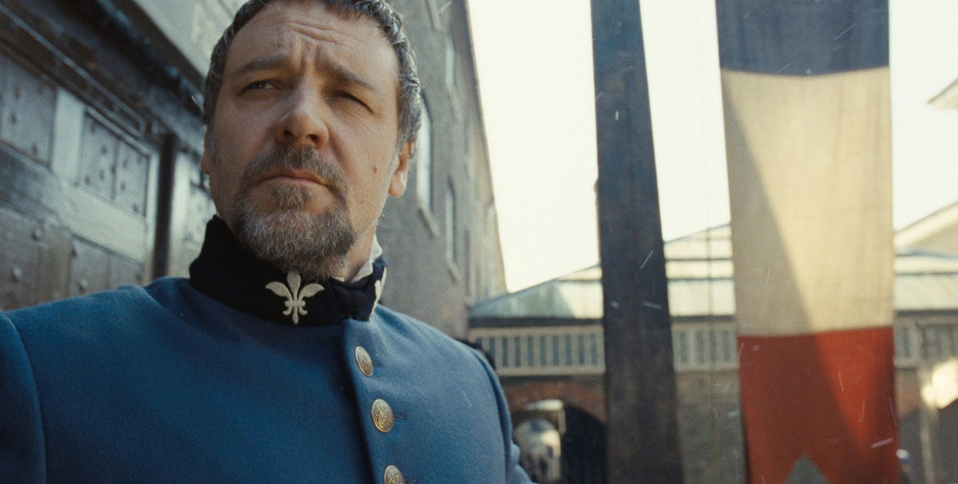 Russell Crowe in the 2012 movie Les Miserables