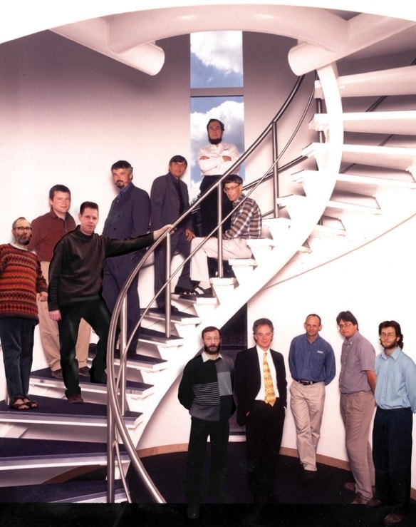 Arm founders, Cambridge, early 2000s