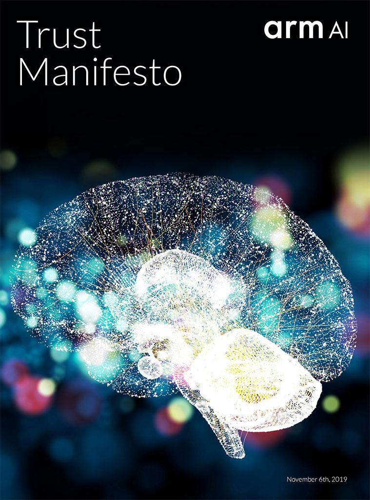 Arm AI Trust Manifesto Cover