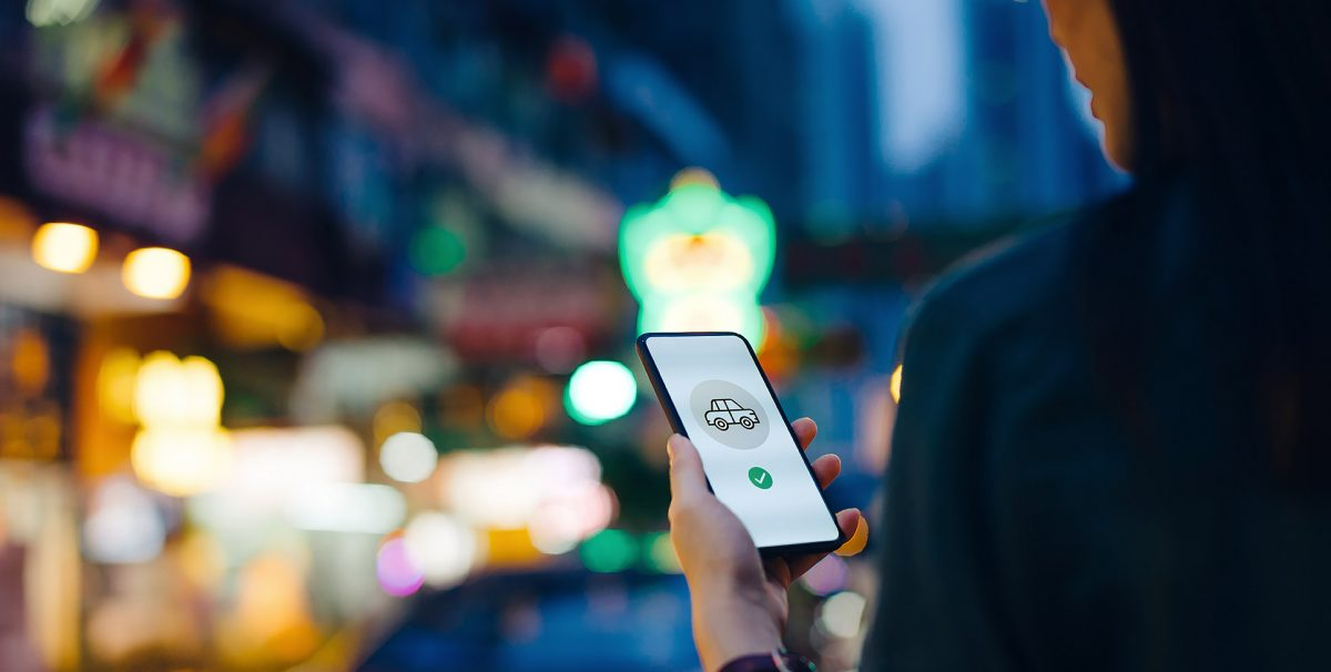 Ride-hailing app future of mobility