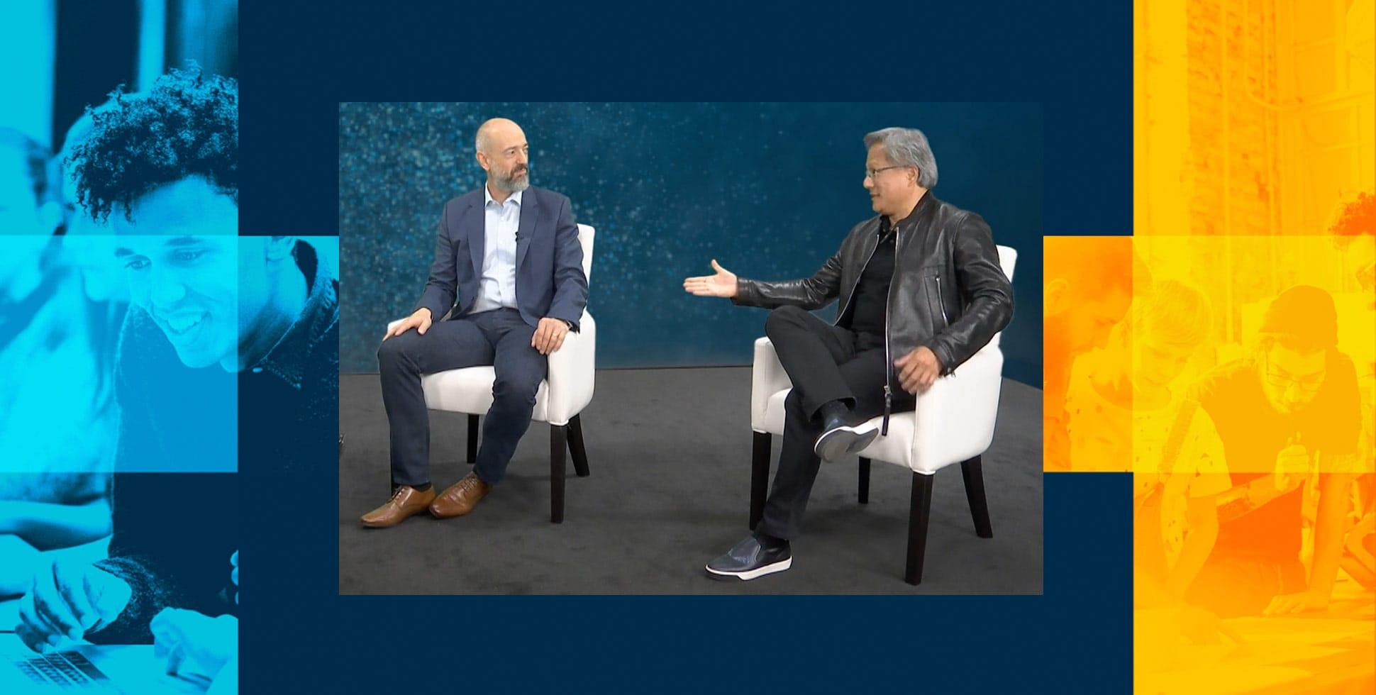 Watch Simon Segars's and Jensen Huang's Fireside Chat at Arm DevSummit