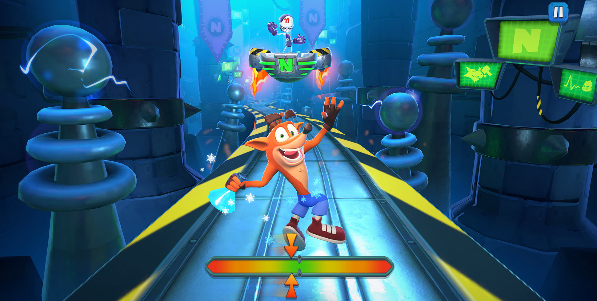 Bringing Console Gaming to Mobile with Crash Bandicoot: On the Run!™